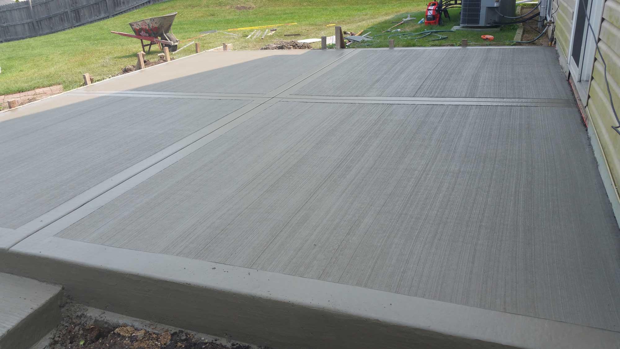 Beau Concrete Patio 4