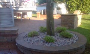 brick-paver-tree-ring-grill-enclosure image