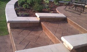 stamped-concrete-front-steps-walkway3 image