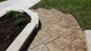 stamped-concrete-front-steps-walkway4 image